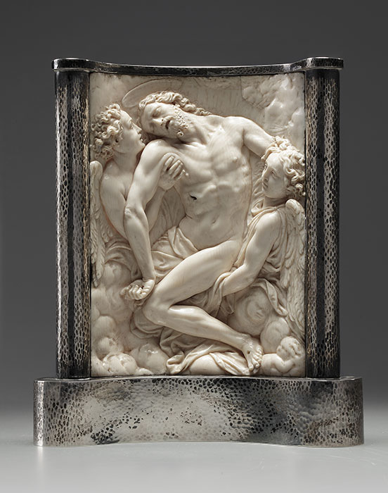 Baroque Ivory relief sculpture - Art dealer Erik Bijzet