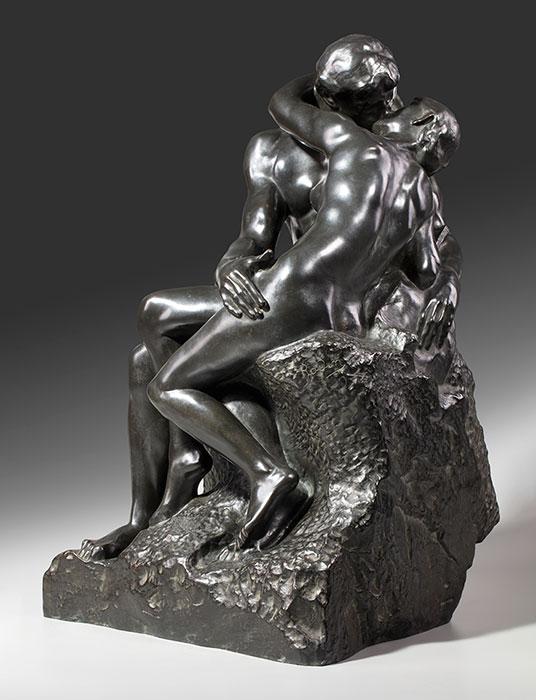 Auguste Rodin, le Baiser - Art dealer Erik Bijzet